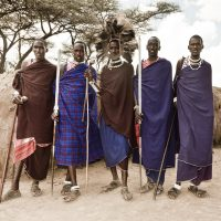 The people of the African Serengeti