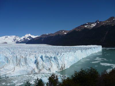 A glacier in Patagonia