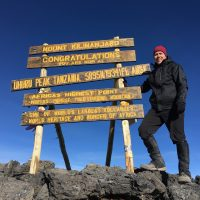 Mt. Kilimanjaro Journey: <BR>Jeff Belanger