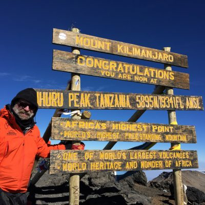 Sharing Our Embark Stories: <BR>Terry White, Mt. Kilimanjaro