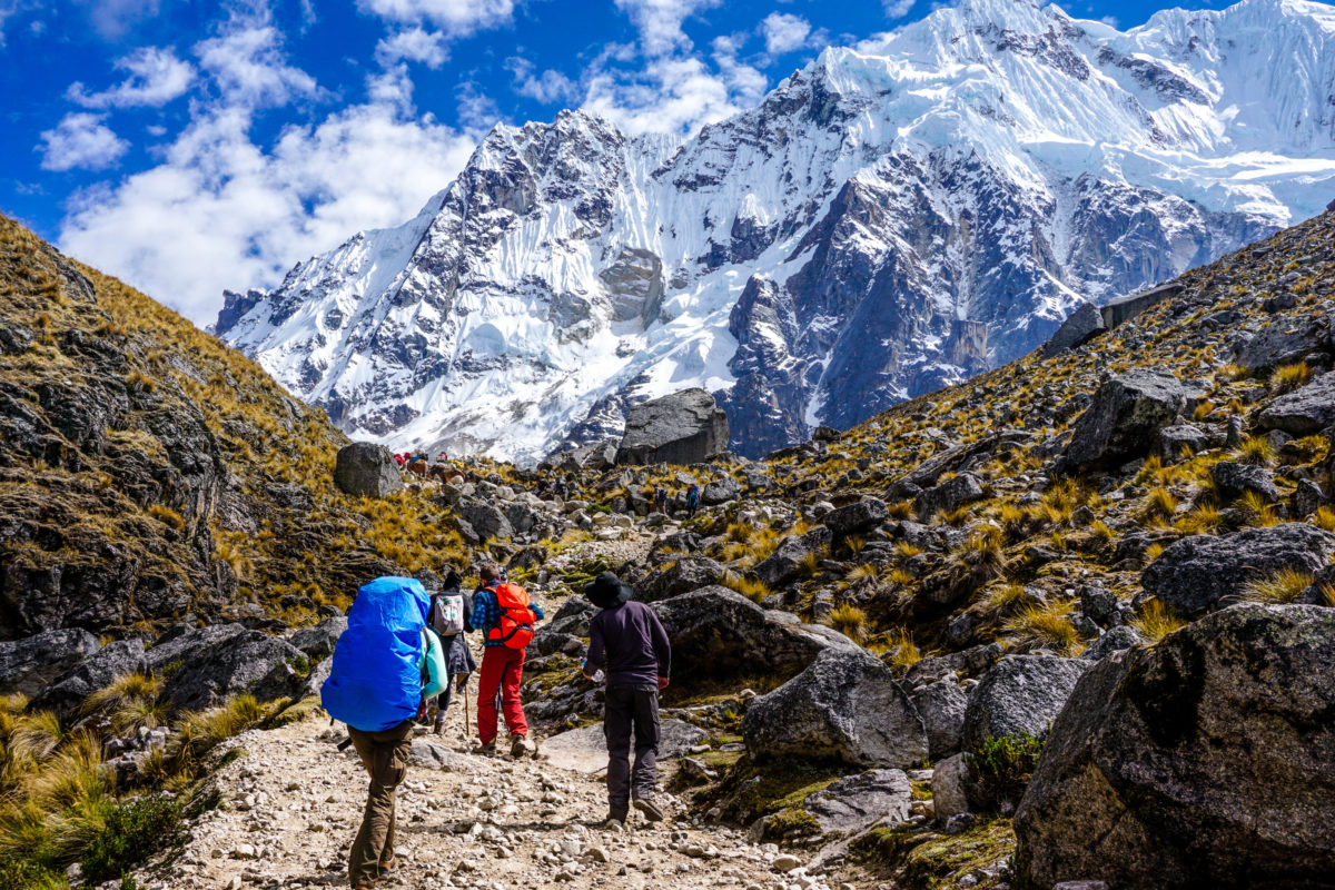 Trek to Salkantay Mountain