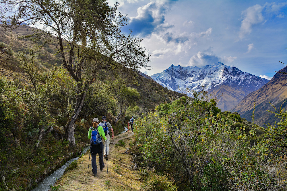 Machu Picchu via Salkantay Trek