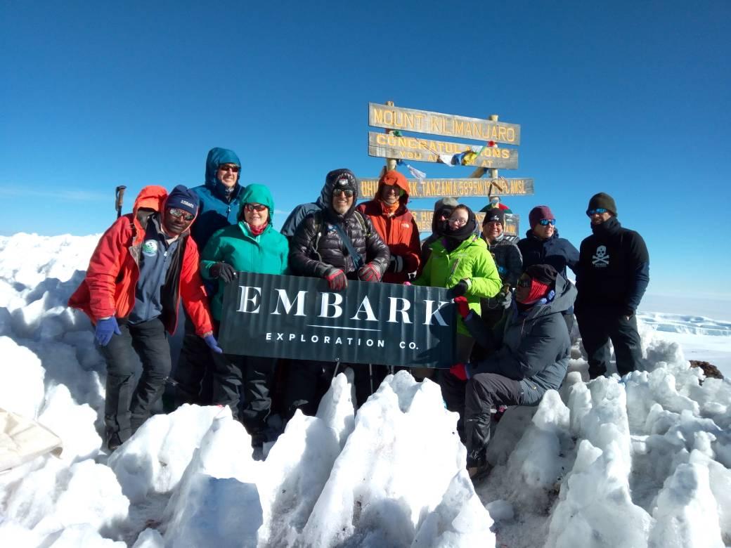 Embark Exploration Co. - Mount Kilimanjaro