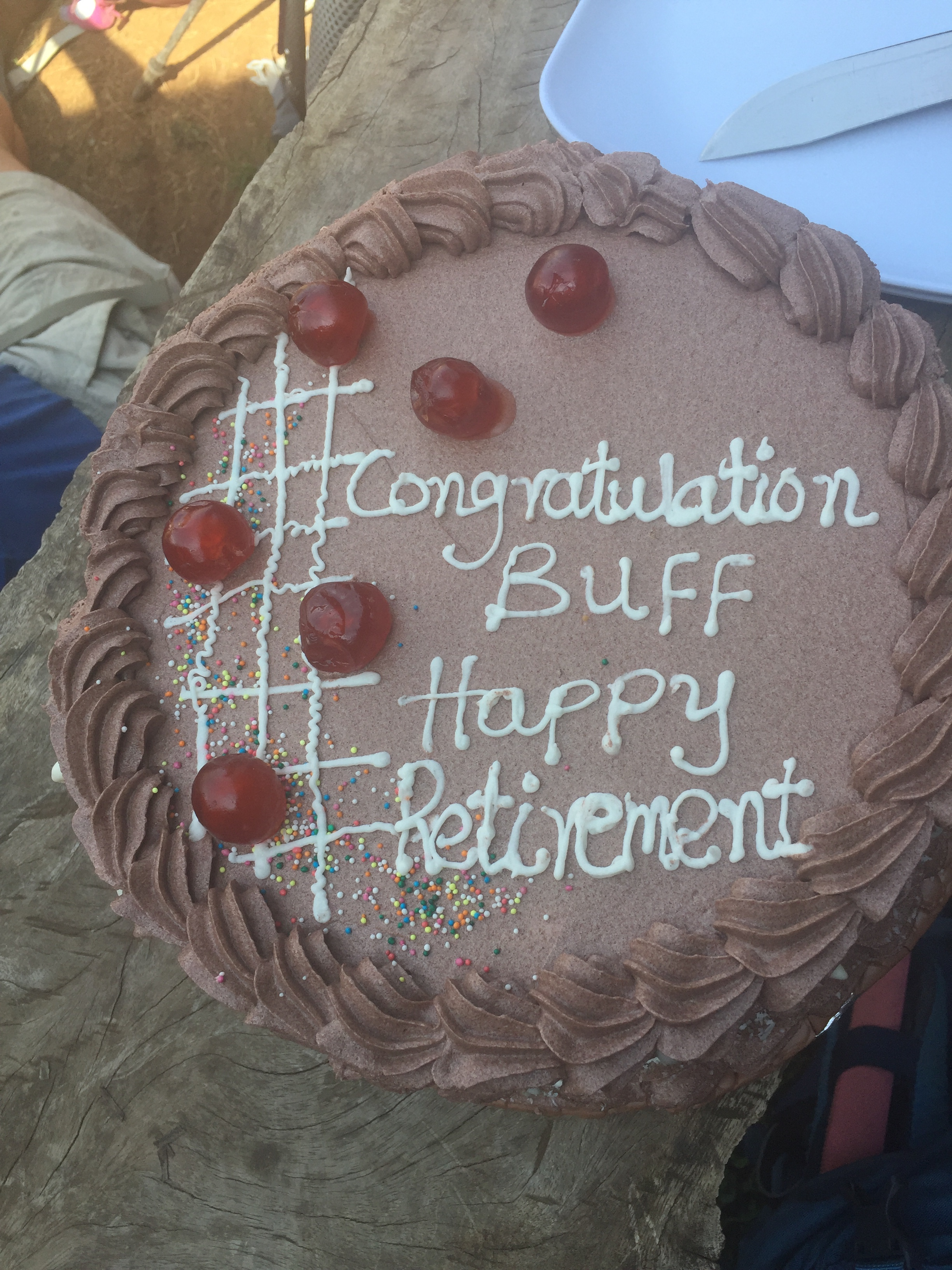 "Laurel ""Buff"" Burkel celebrated her retirement from the Air Force on the summit of Kilimanjaro."