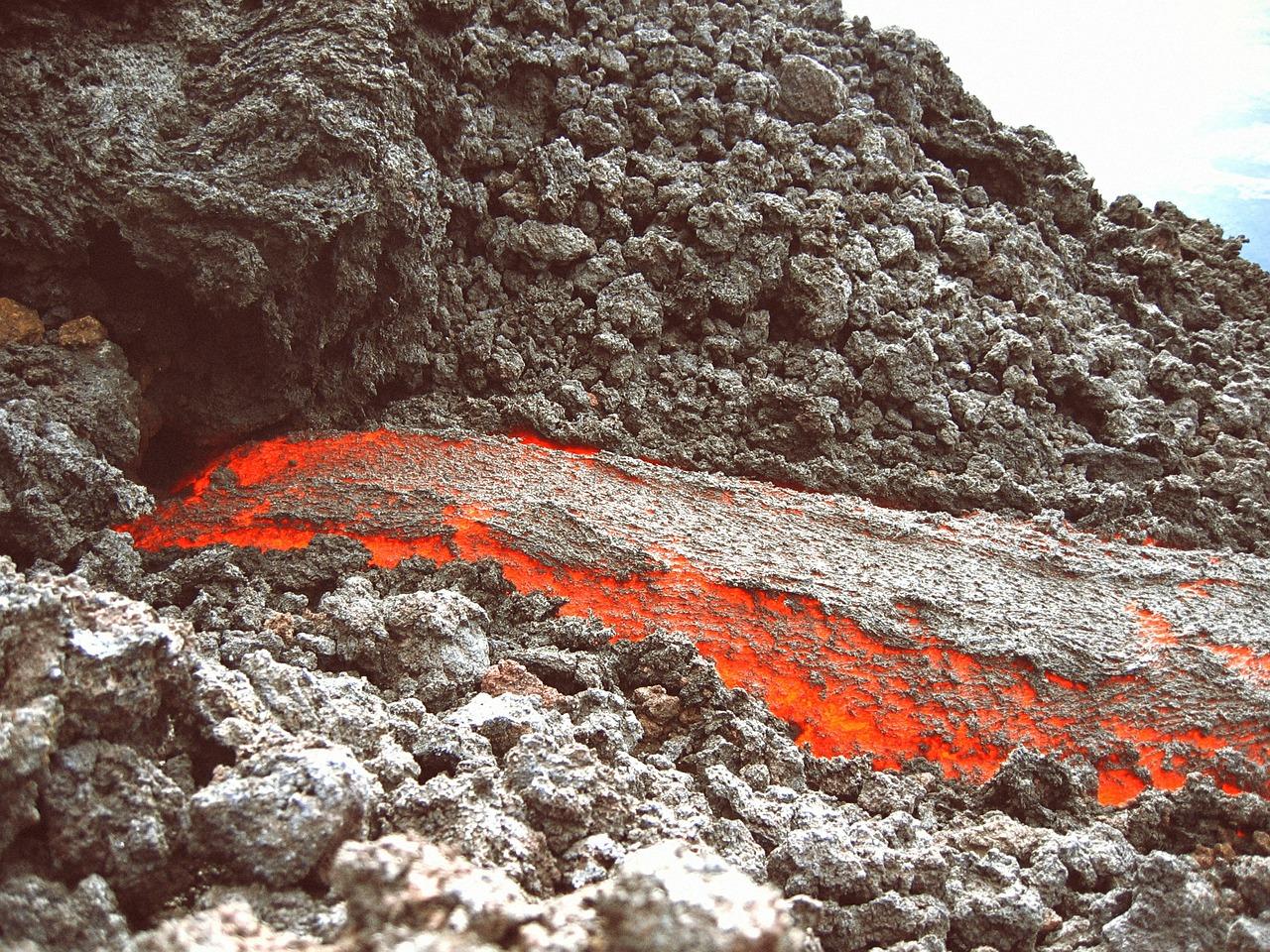 Lava Flows in Guatemala
